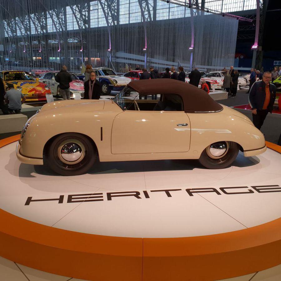 """...die Brüsseler """"Autoworld"""" feiert 70 Jahre Porsche mit einer Sonderschau!"""